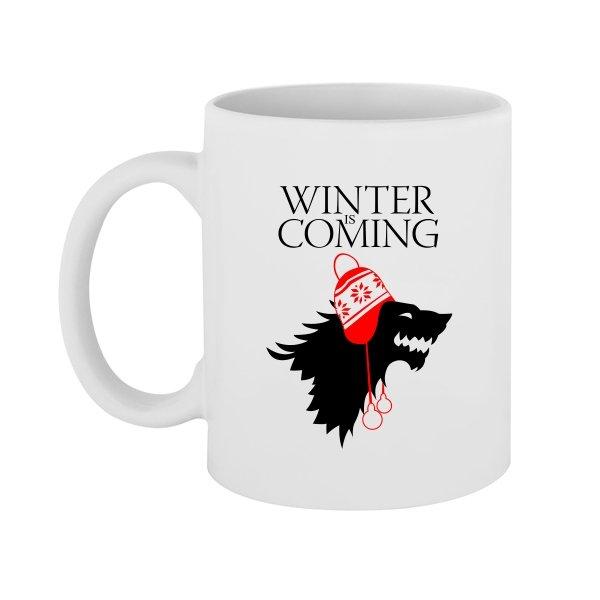 Чашка Зима Близко