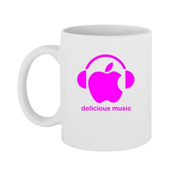 Чашка Delicious music