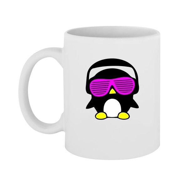 Чашка Кислотный Пингвин