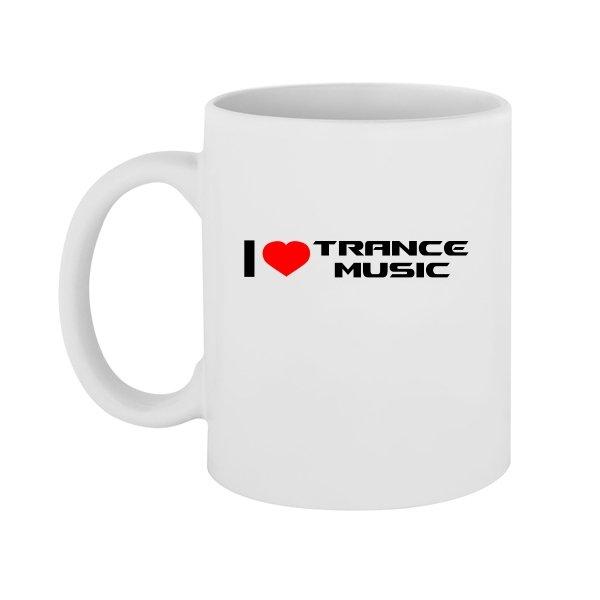 Чашка I Love Trance Music