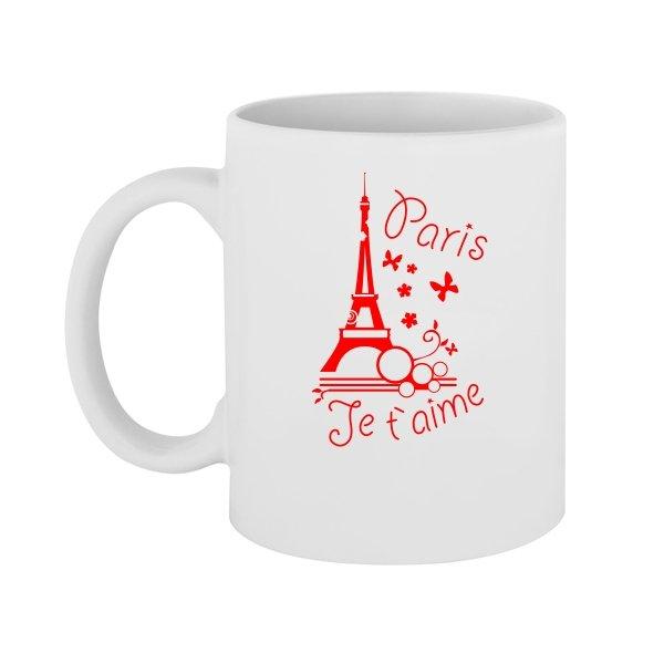 Чашка Люблю Париж