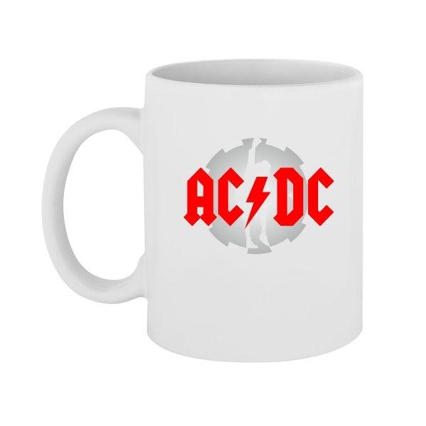 Чашка с логотипом AC DC