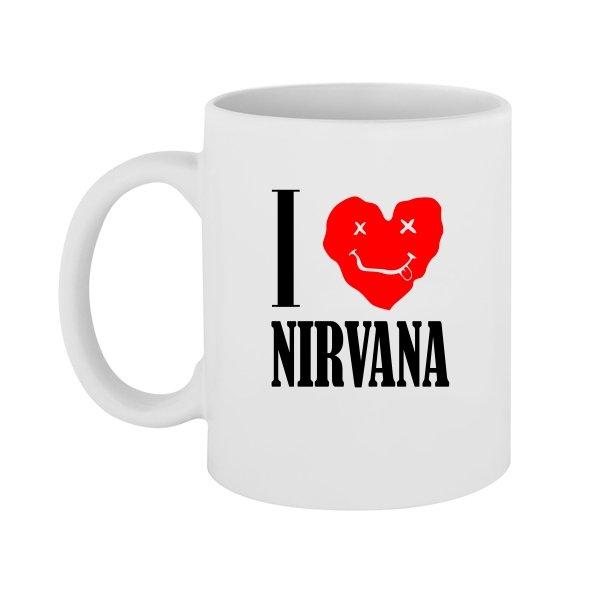 Чашка I Love Nirvana