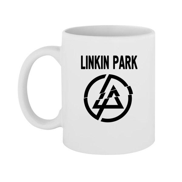 Чашка Линкин Парк логотип