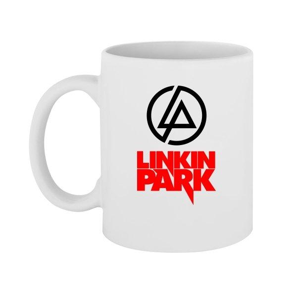 Чашка с надписью Линкин Парк