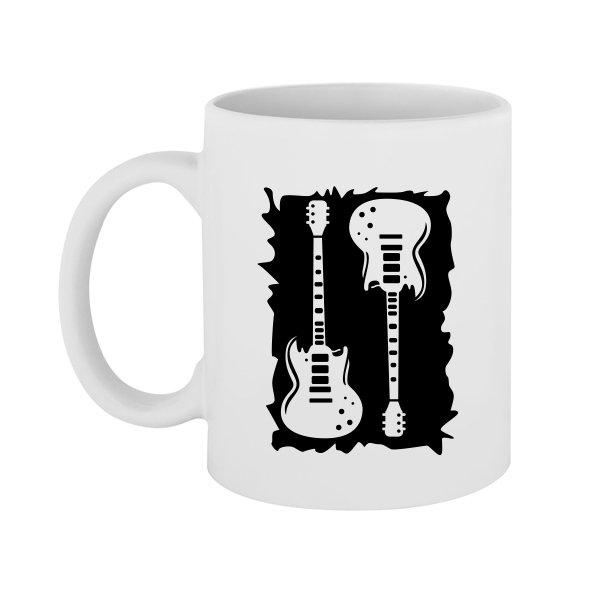 Чашка с Рок Гитарами
