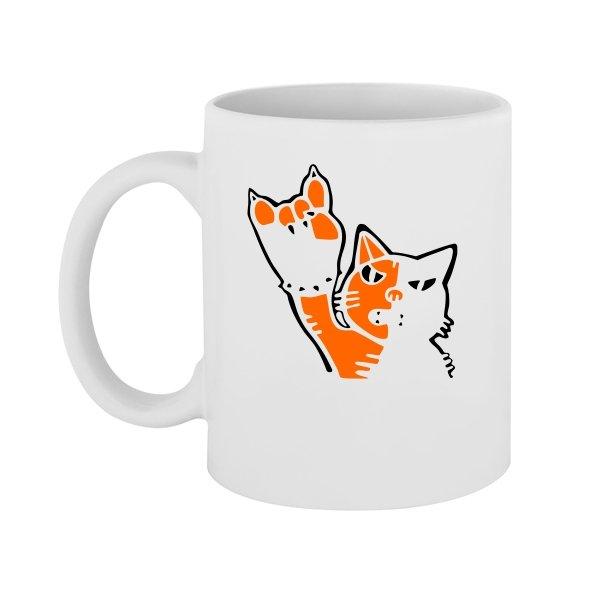 Чашка Рок Кот