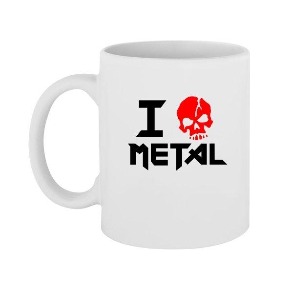 Чашка Я Люблю Метал