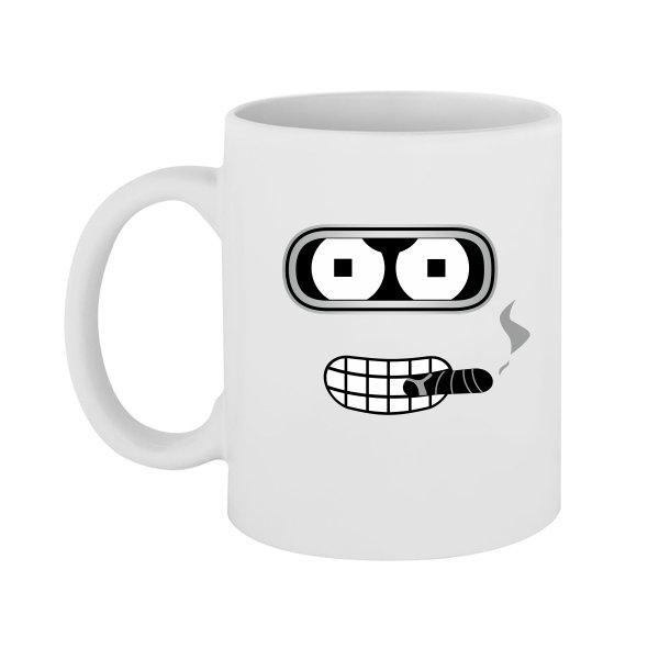 Чашка Бендер с Сигарой