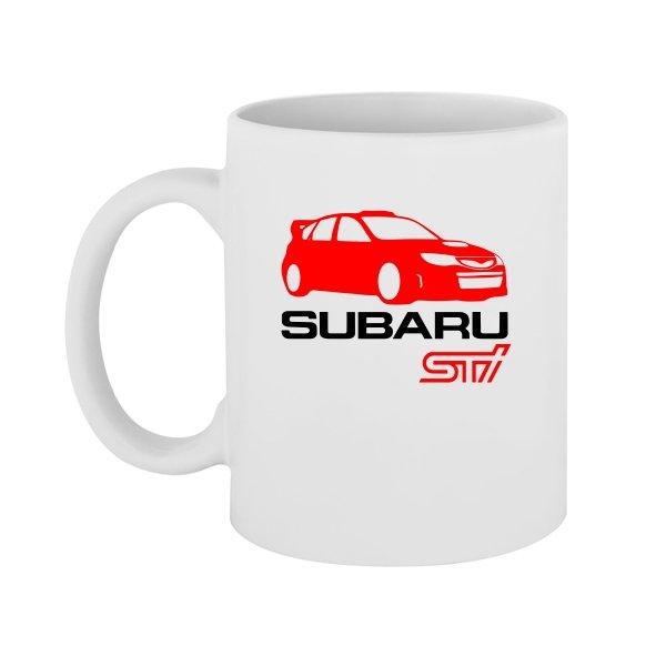 Чашка Subaru STI
