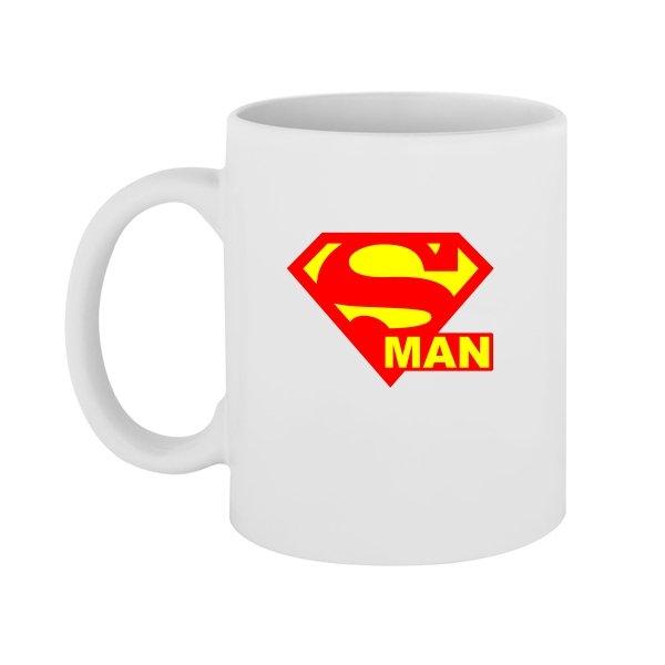 Чашка Со Знаком Супермена