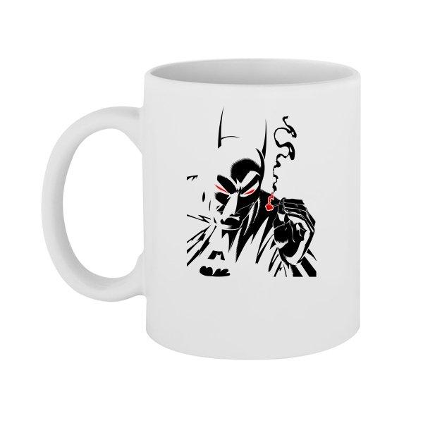 Чашка Курящий Бэтмен