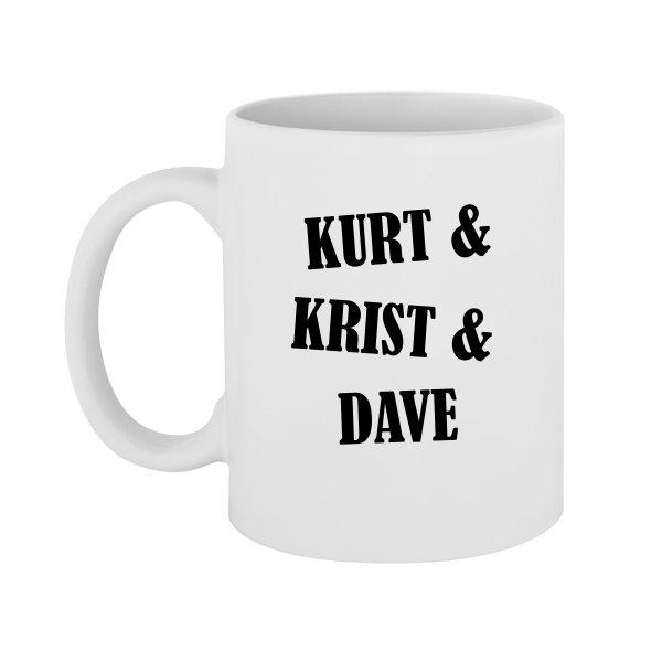 Чашка Kurt Krist Dave