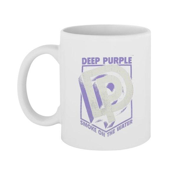 Чашка Deep Purple лого 3D