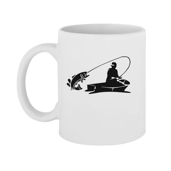 Чашка Клевая Рыбалка