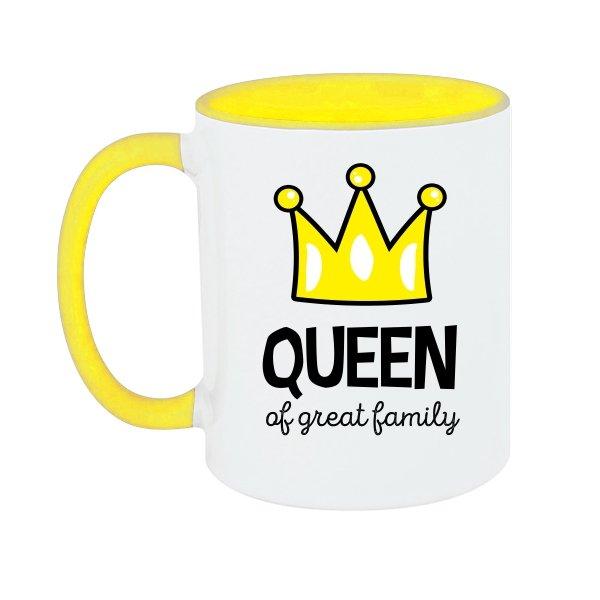 Чашка Королева большой семьи