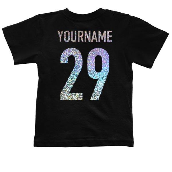 Детская футболка Имя с Номером Голограмма