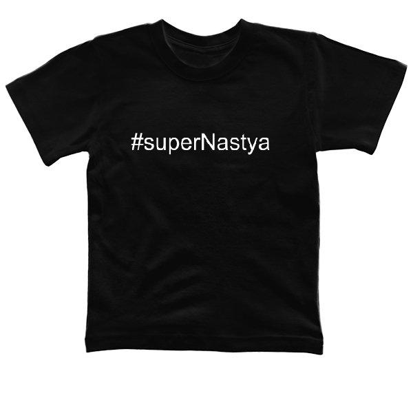 Детская футболка Super Настя