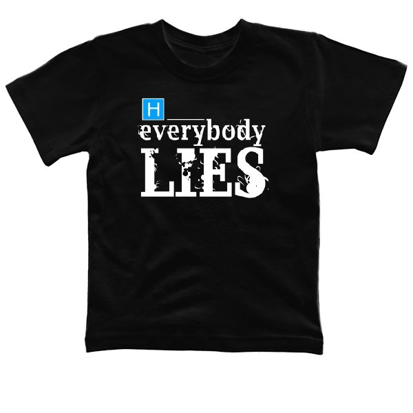 Детская футболка Доктор Хаус Everybody Lies