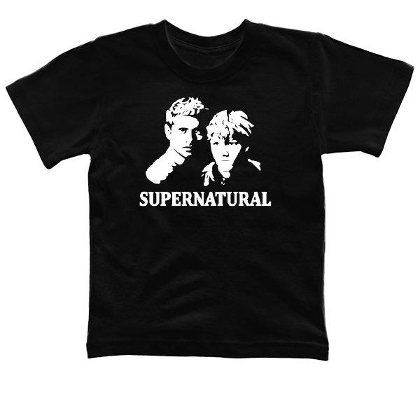 Детская футболка Supernatural Лица