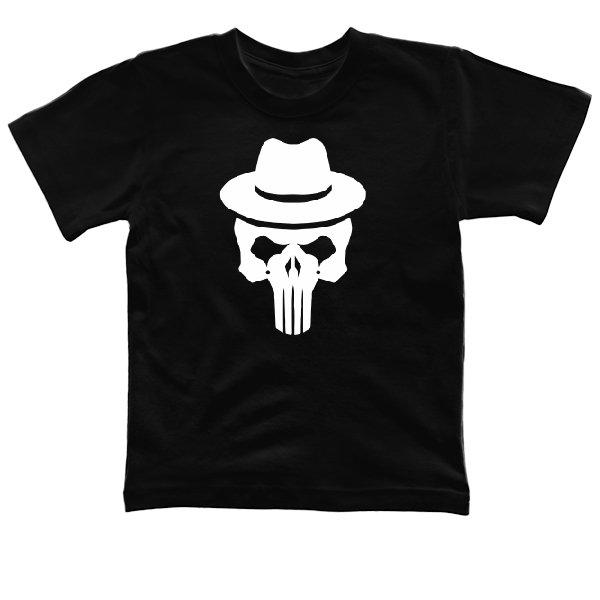 Детская футболка Каратель Шляпа