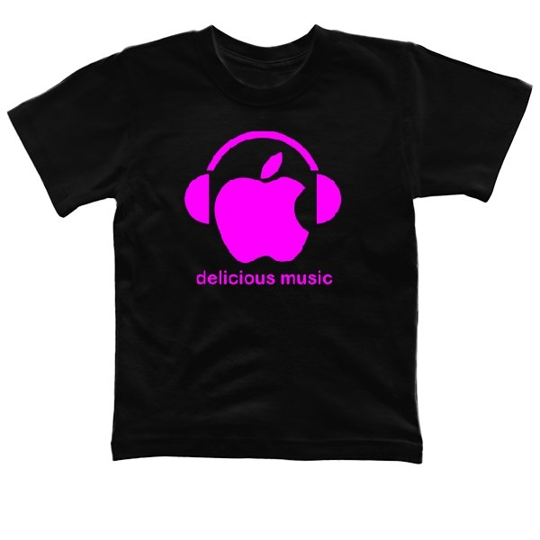 Детская футболка Delicious music