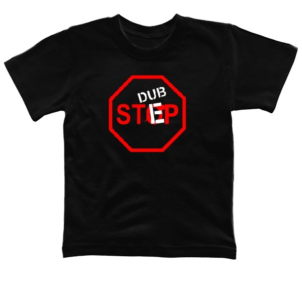 Детская футболка Знак Dupstep