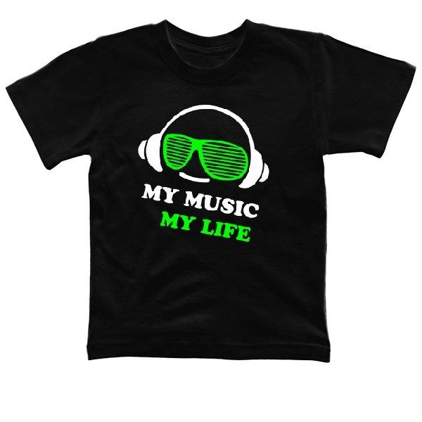 Детская футболка Моя Музыка - Моя Жизнь