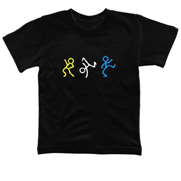 Детская футболка Танцующие Человечки