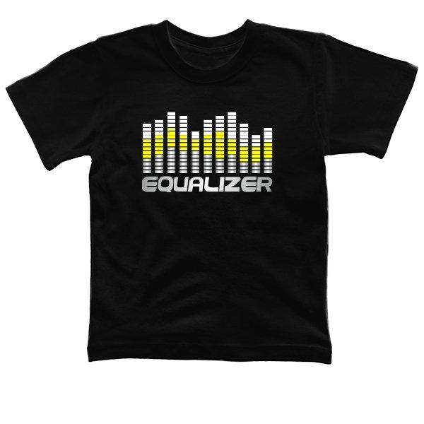 Детская футболка Графический Эквалайзер