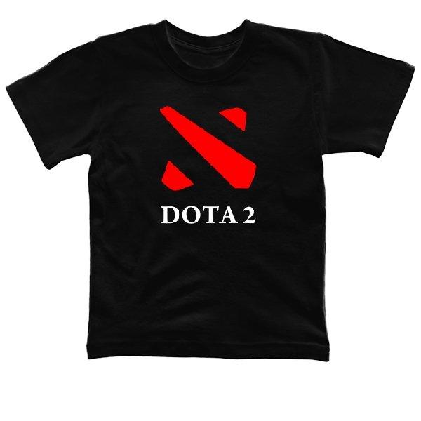 Детская футболка Dota 2 контур