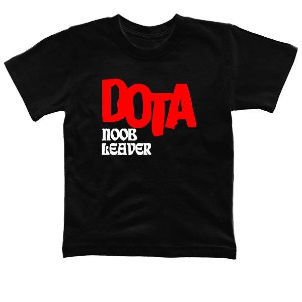 Детская футболка Dota Noob Leader