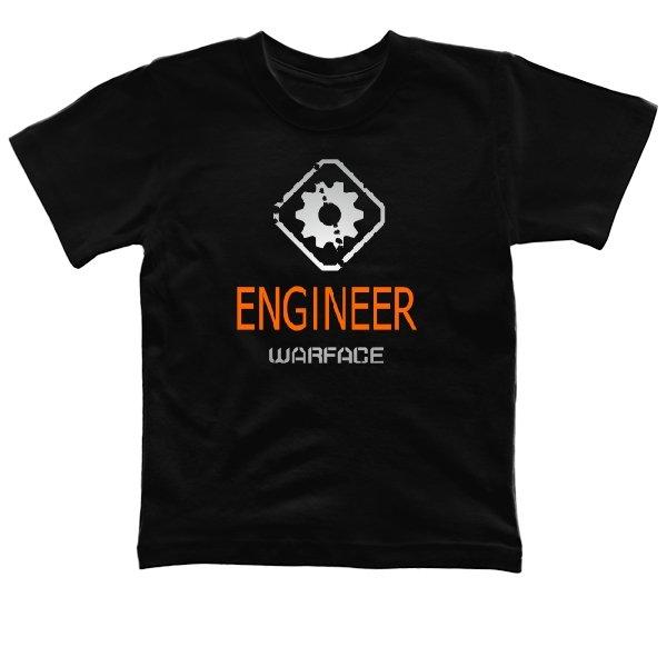 Детская футболка Warface Инженер
