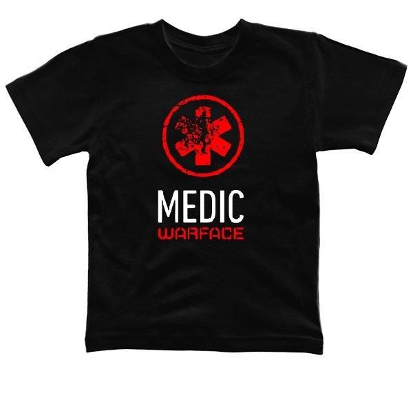 Детская футболка Warface Медик