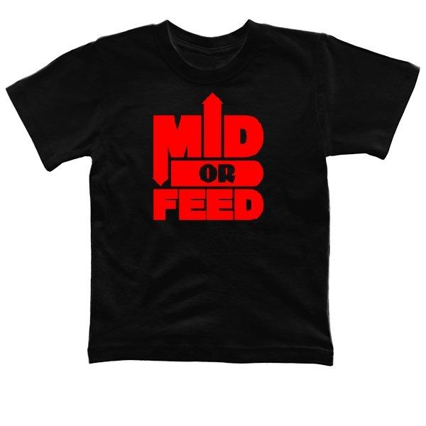 Детская футболка Mid or Feed