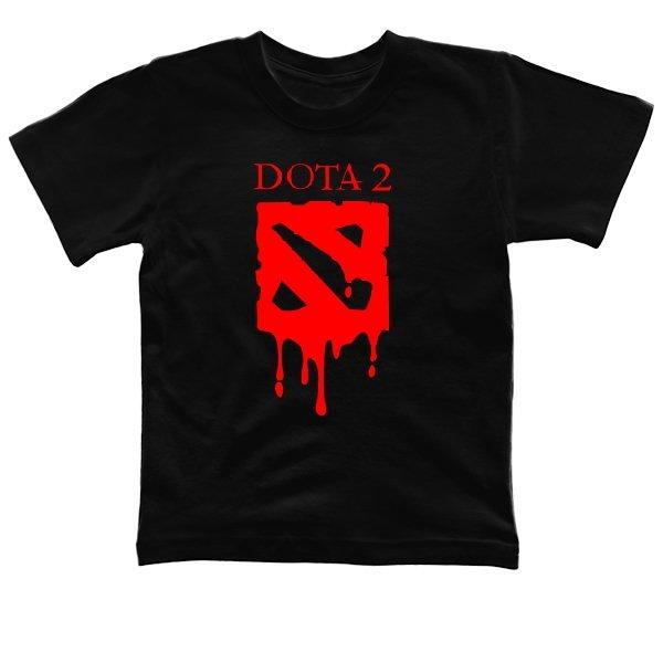 Детская футболка Кровавая Дота-2
