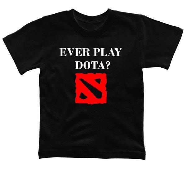 Детская футболка Ever play Dota
