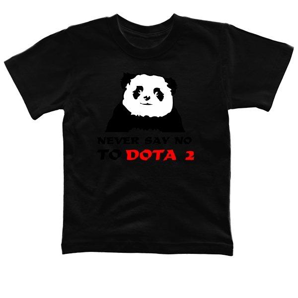 Детская футболка Never say no to Dota 2