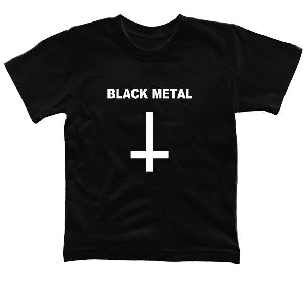 Детская футболка Black Metal