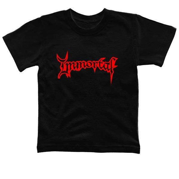 Детская футболка Immortal