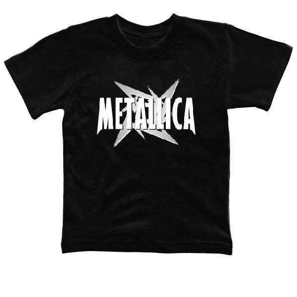 Детская футболка Metallica logo