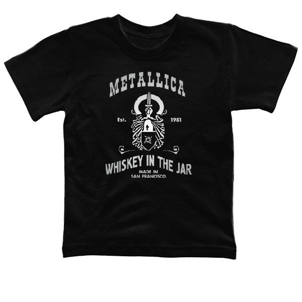 Детская футболка с Металликой