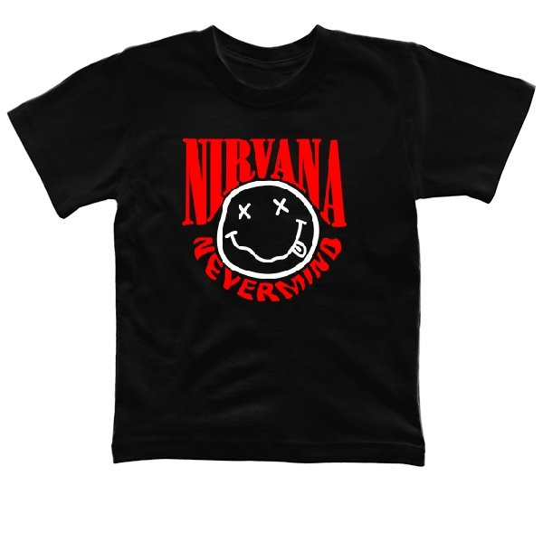 Детская футболка Nirvana Nevermind