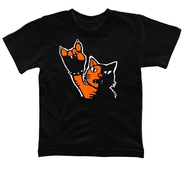 Детская футболка Рок Кот