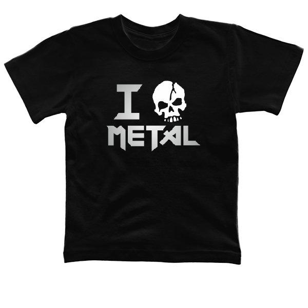 Детская футболка Я Люблю Метал