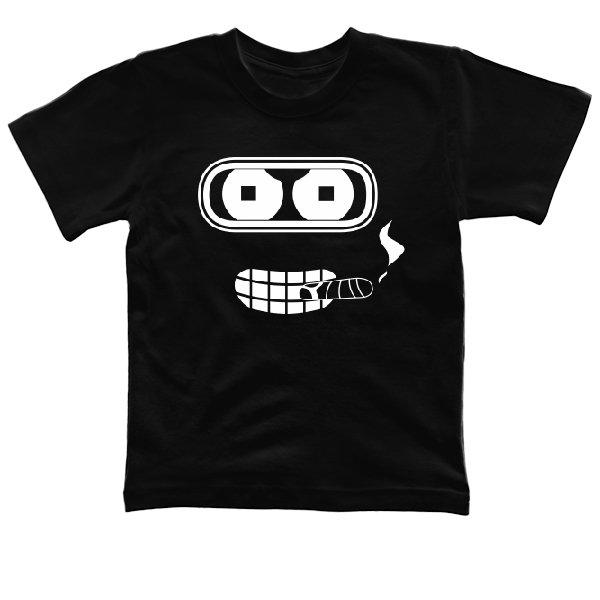 Детская футболка Бендер с Сигарой