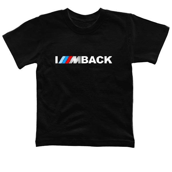 Детская футболка Bmw im back
