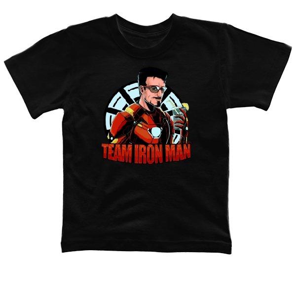 Детская футболка Команда Железного Человека