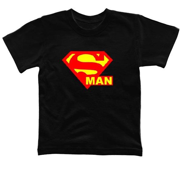 Детская футболка Со Знаком Супермена