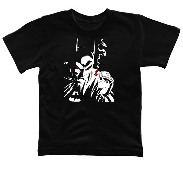 Детская футболка Курящий Бэтмен